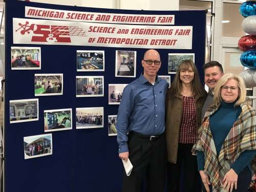 Science Fair Judging Team 2018